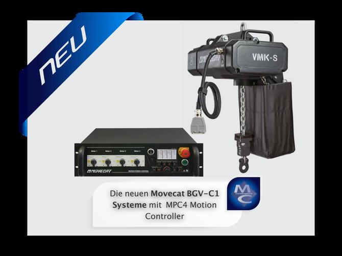 Die neuen Movecat BGV-C1 Systeme