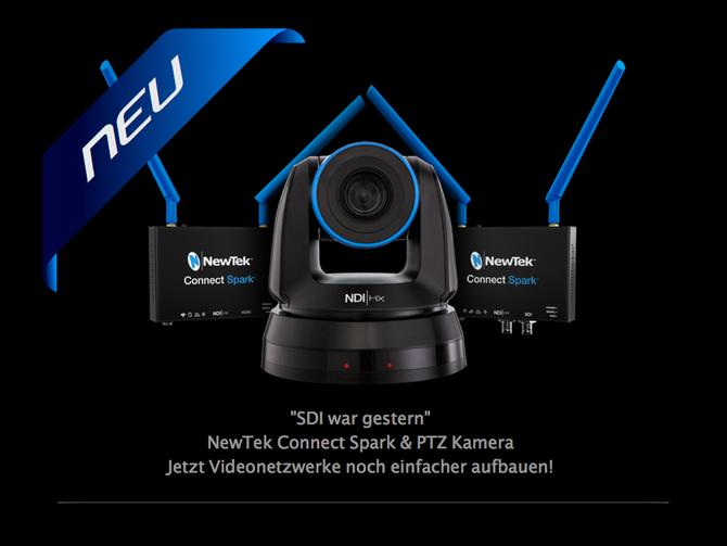 NewTek Connect Spark & PTZ Kamera
