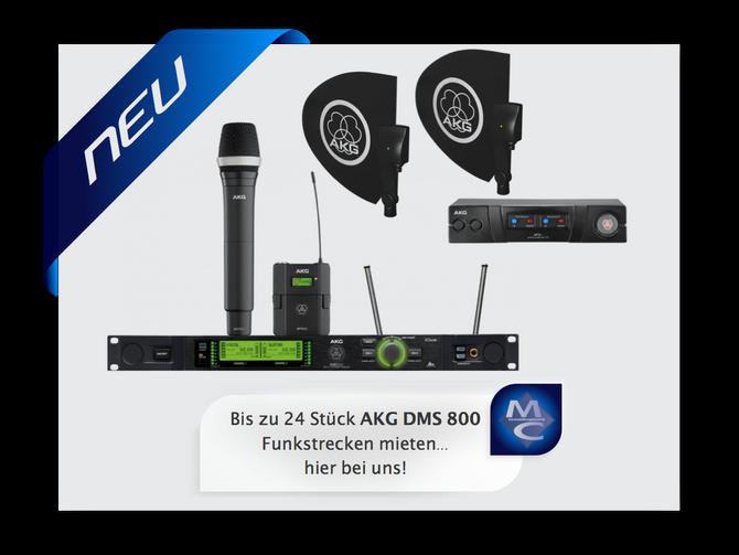 Die neuen AKG Funksysteme