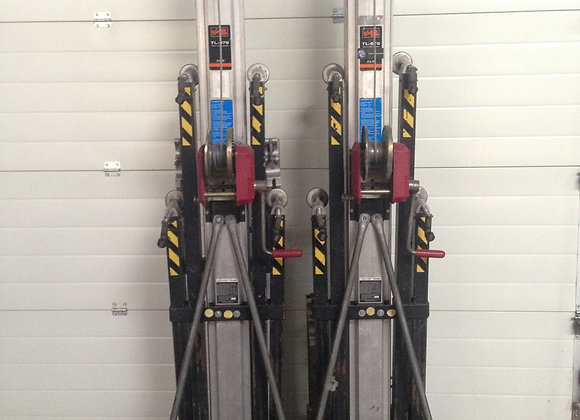 Set aus 2x VMB TL-070 Traversen Lift, Gabellift, PA Lift
