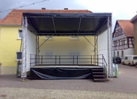 Eurotruss FD34 Bühne 5m x 4m x 4,99m