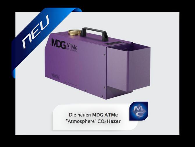 """Die neuen MDG ATMe """"Atmosphere"""" CO2 Hazer"""