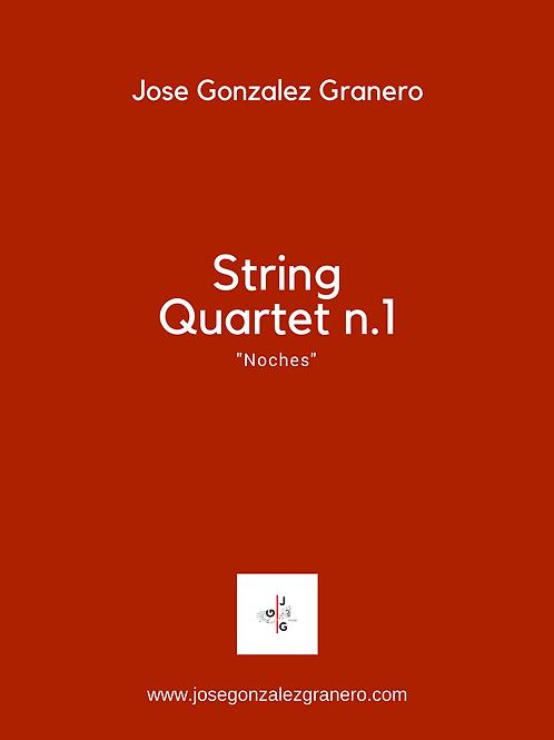 "String Quartet n.1 ""Noches"""