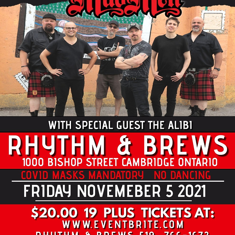 MUDMEN with special guest The Alibi