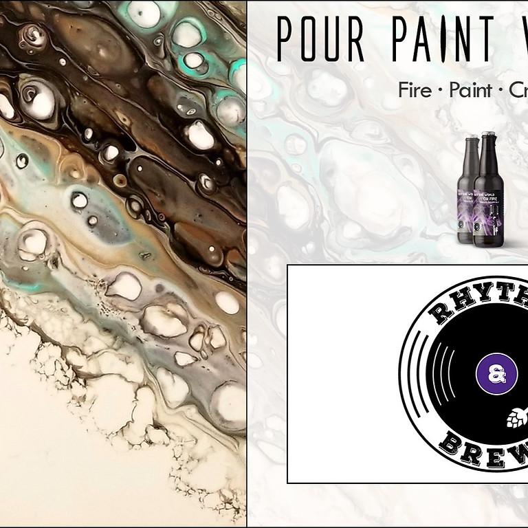 Pour Paint Workshop w/ ELLIE!
