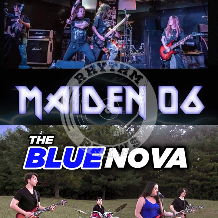 MAIDEN 06 (Tribute to Iron Maiden) with special guest The Blue Nova