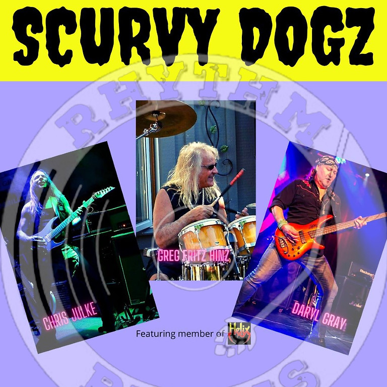 SCURVY DOGZ featuring all three members from Helix