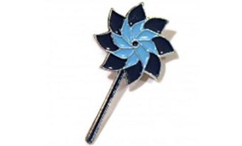 Pinwheel Lapel Pins