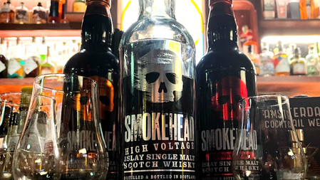 Peated Cinderella Smokehead Whisky