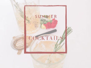 Summer's here - let's get some cocktails ready