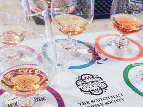 July tastings with the Scotch Malt Whisky Society