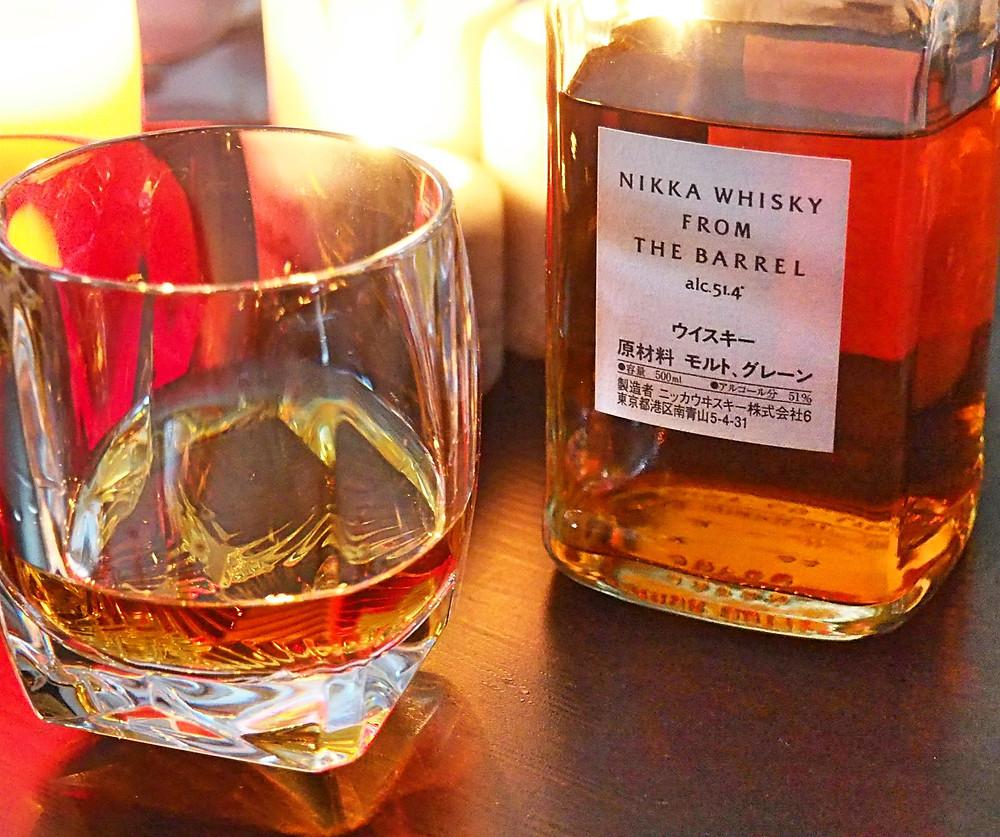 Whisky, tumbler