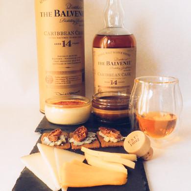 The Balvenie and the dessert smörgåsbord