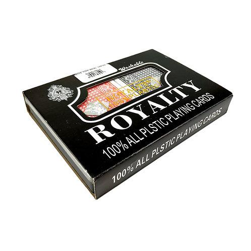 REMIS ROYAL CARTAS ROYALTY 100 % PLASTICO ALL PLASTIC PLAYING 1803.