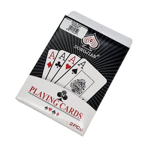 REMIS JUEGO AZAR DE CARTAS 2 MAZOS PLAYING CARDS ECONOMICO.