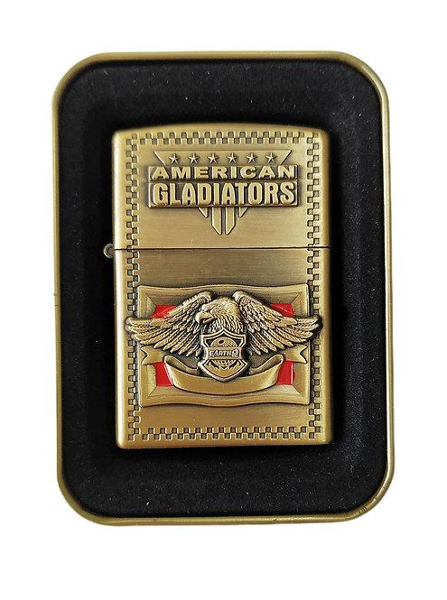 ENCENDEDOR EARTH BRIQUET METÁLICO AMERICAN GLADIATOR REF. 236.
