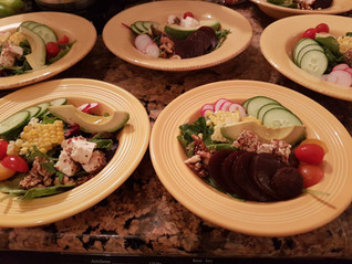 Beet & Goat Salad