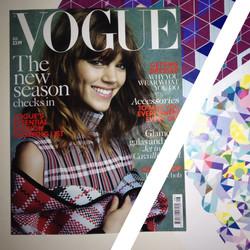 British Vogue - Aug 2013