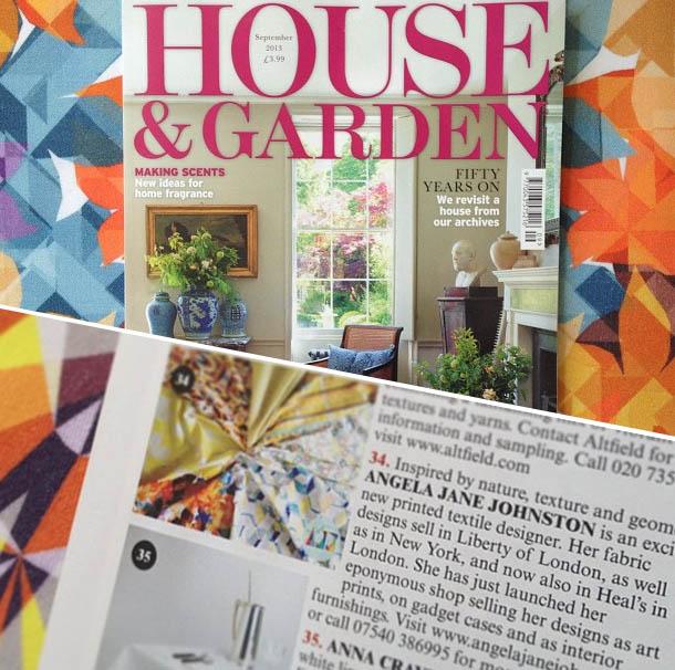 House & Garden - Sept 2013