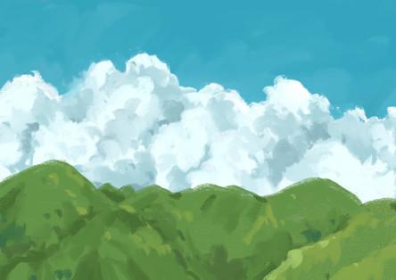 Clouds in Honolulu