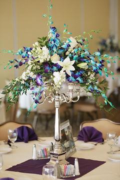 purple wedding bridal flowers bouquet