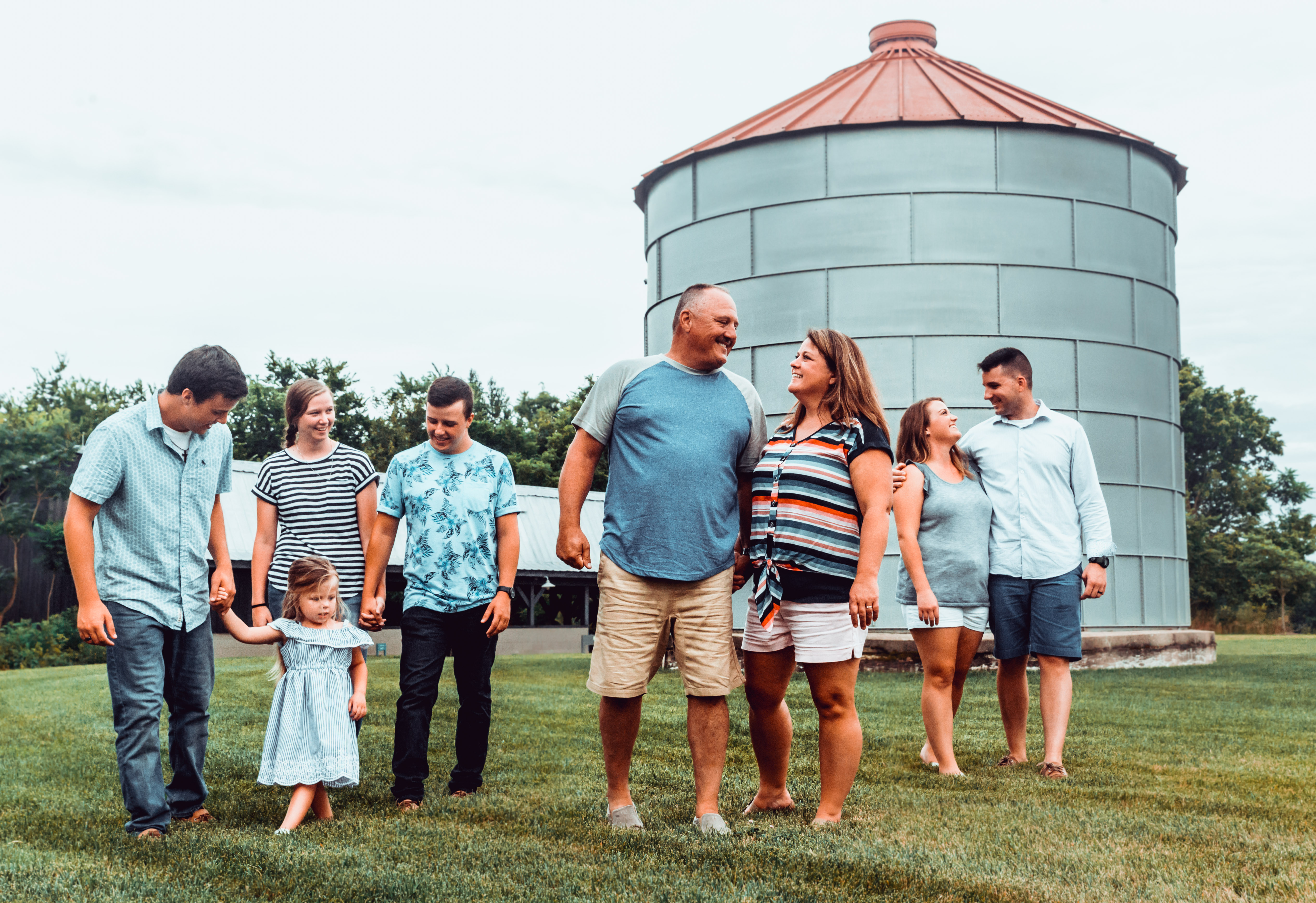 The East + Caudill Clan