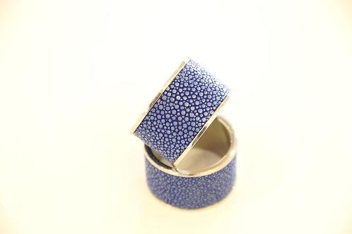 Napkin Rings set Royal Blue