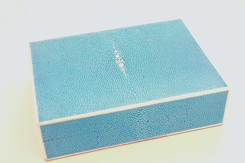 Card Box Turquoise