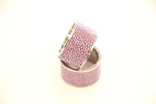 Napkin Rings set Purple