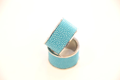 Napkin Rings set Turquoise