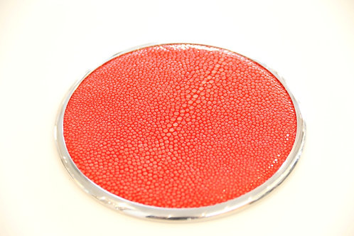 Coasters Set Red