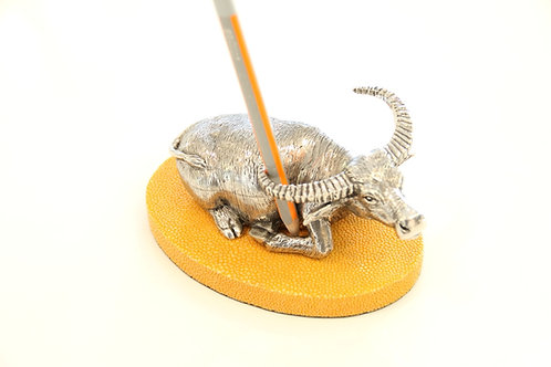 Buffalo Pen holder Yellow