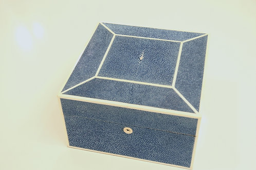 Square Jewelry Box Navy