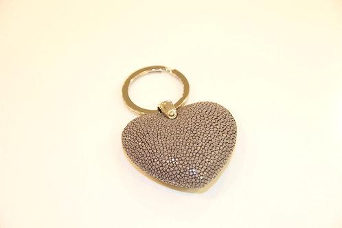 Heart Key ring Steel