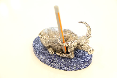 Buffalo Pen holder Royal Blue