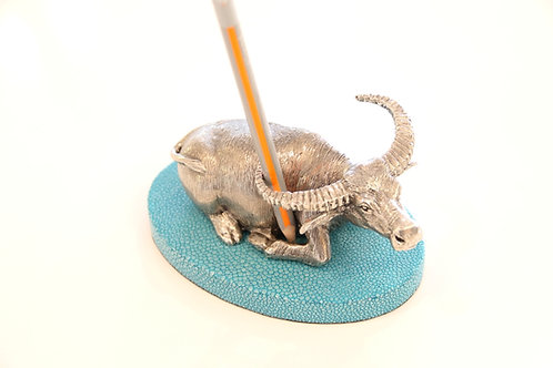 Buffalo Pen holder Turquoise