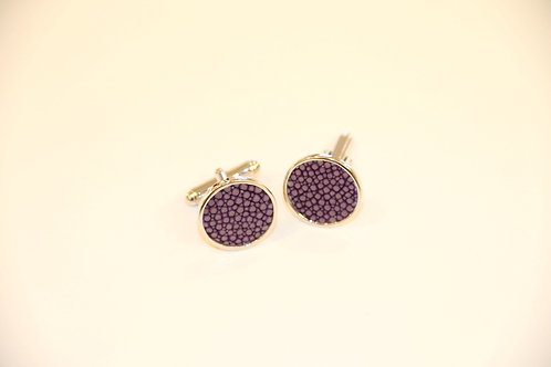 Cufflinks Purple