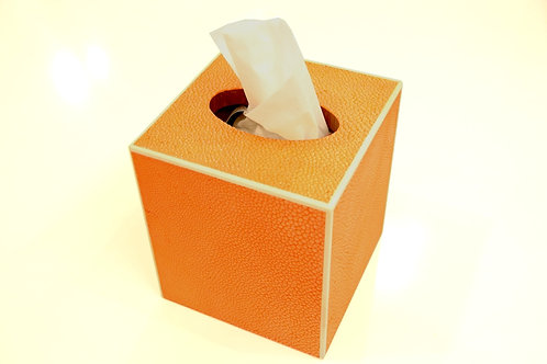 Tissue Box Orange