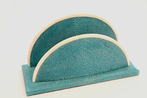 Letter Holder Turquoise