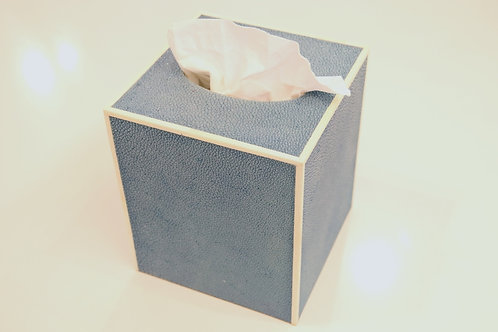Tissue Box Blue