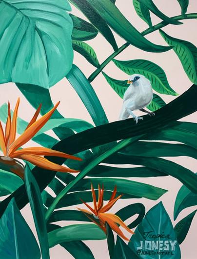 Tropica detail by Jonesy Art Atl