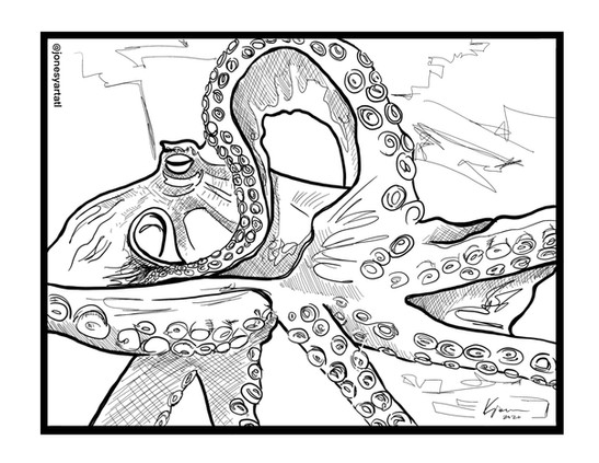 DEEP coloring page
