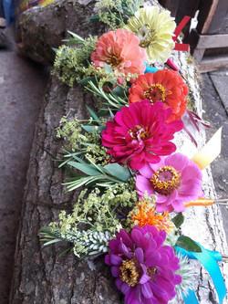 Rainbow buttonholes