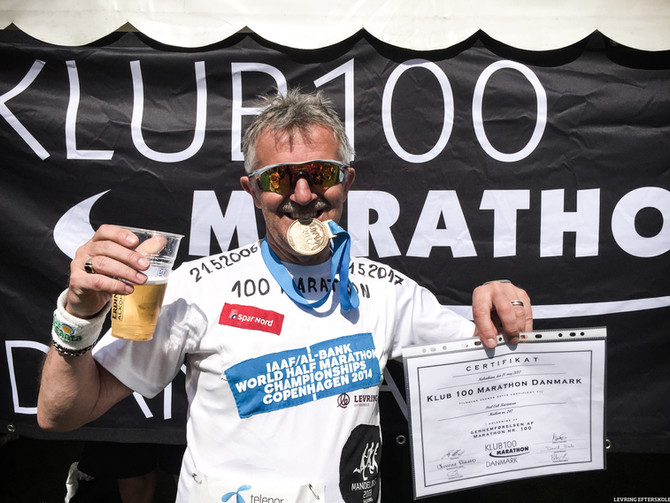 Poul Erik og de 100 maratonløb