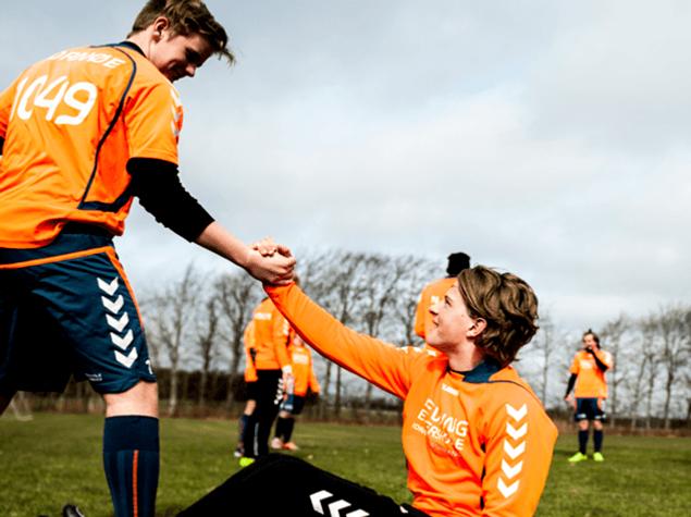 Fodboldefterskole i jylland