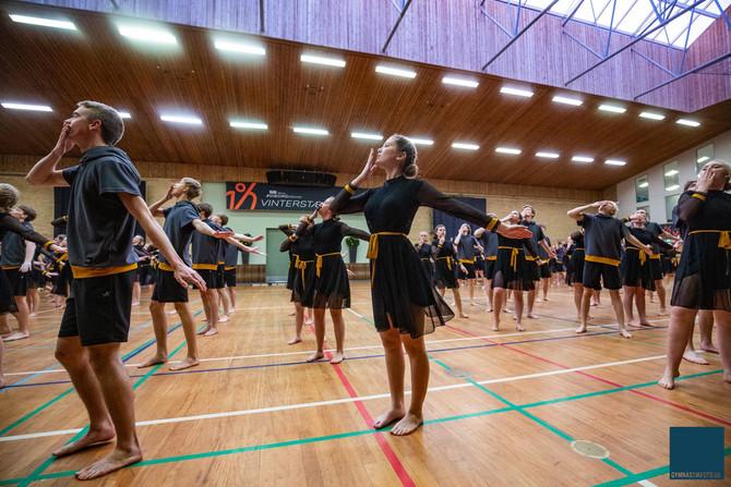 Levringelever klar med tæt gymnastikprogram i foråret