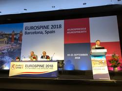 Конгресс Eurospine 2018