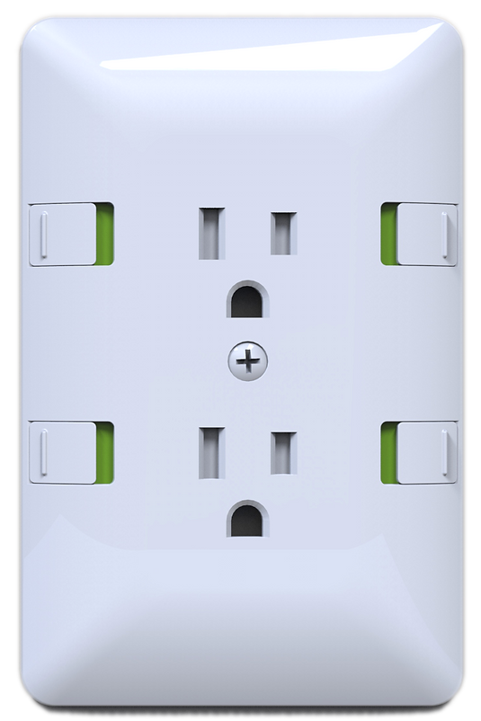 PINCH Safe Outlet - Duplex Cover