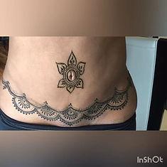 VACA BELLY HENNA! 🏝⛱ #henna #hennaart #