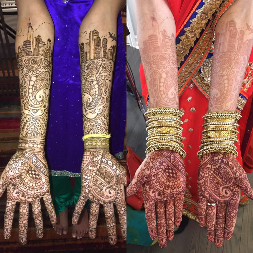 Personalized Bridal Henna